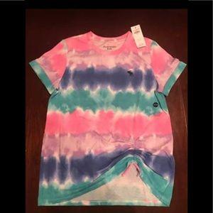 Abercrombie kids tie dye shirt